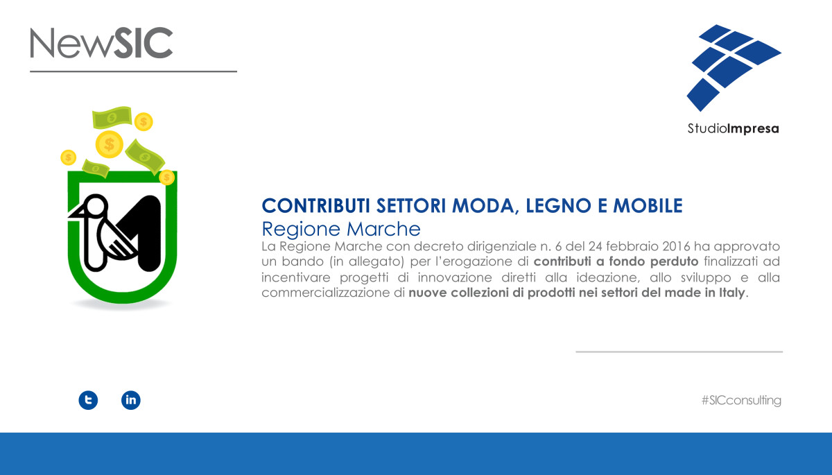 Contributi Regione Marche